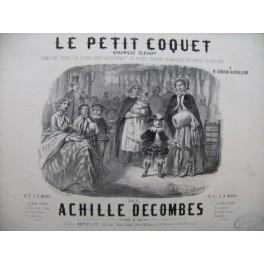 DECOMBES Achille Le Petit Coquet Piano ca1850