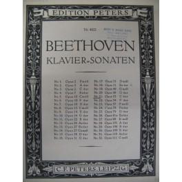 BEETHOVEN Ludwig van Sonate pour piano n° 21 op 53