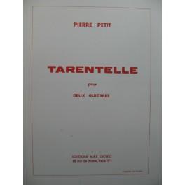 PETIT Pierre Tarentelle deux Guitares 1972