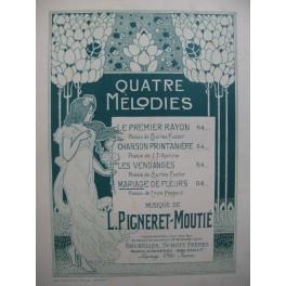 PIGNERET-MOUTIÉ Mariage de Fleurs Chant Piano