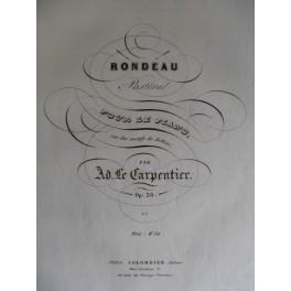 LE CARPENTIER Adolphe Rondeau Pastoral