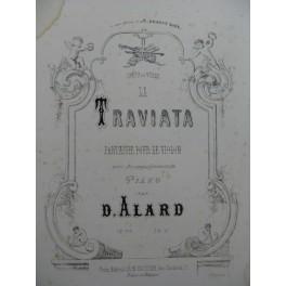 ALARD Delphin Fantaisie La Traviata Violon Piano ca1860