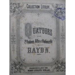 HAYDN Joseph Quatuors 83 Pièces Violons Alto Violoncelle XIXe