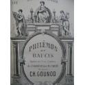 GOUNOD Charles Philémon et Baucis Opéra Piano solo XIXe