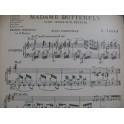 TAVAN E. Grande Fantaisie Madame Butterfly Puccini Orchestre 1906