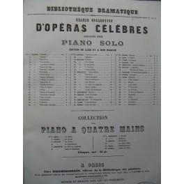 MERCADANTE Il Giuramento Opéra Piano solo ca1870