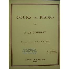 LE COUPPEY Félix Le Progrès 25 Etudes Piano