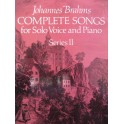 BRAHMS Johannes Complete Songs for Solo Voice and Piano Series II