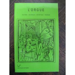 L'ORGUE Revue N° 226 Avril Juin 1993