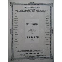CRAMER J. B. Le Petit Rien Piano ca1860
