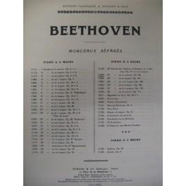BEETHOVEN Ludwig van Sonate pour piano n° 27 op 90