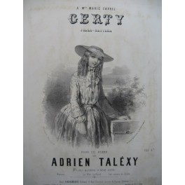 TALEXY Adrien Gerty Piano 1856