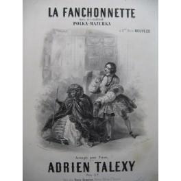 TALEXY Adrien La Fanchonnette Piano ca1856