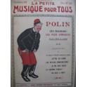 POLIN Ses Chansons les plus Comiques Chant Piano 1914