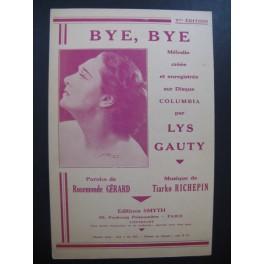 Bye Bye Lys Gauty Chanson 1935