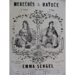 SENGEL Emma Haÿdée Piano XIXe siècle