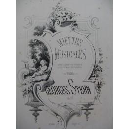 LECOCQ Charles Miettes Musicales op 21 No 1 Piano XIXe