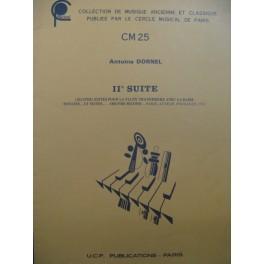 DORNEL Antoine 2e Suite Flûte traversière Basse
