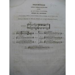 MONTFORT A. Polichinelle No 5 Chant Piano ca1840