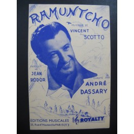 Ramuntcho Vincent Scotto 1944