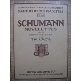 SCHUMANN Robert Novelettes op 21 Piano