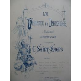 SAINT-SAËNS Camille La Fiancée du Timbalier Chant Piano ca1887