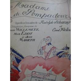 FALL Léo Madame de Pompadour Opérette 1930