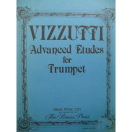 VIZZUTTI Allen Advanced Etudes for Trumpet Trompette