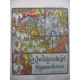 HOLMÈS Augusta Les Chevaliers du Ciel Chant Piano 1901