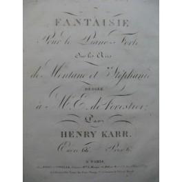 KARR Henry Fantaisie Piano ca1820
