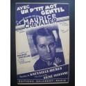 Avec un p'tit mot gentil Maurice Chevalier 1938
