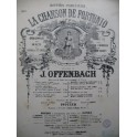 OFFENBACH Jacques La Chanson de Fortunio No 6 Chant Piano XIXe
