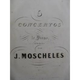FIELD MOSCHELES PIXIS HUMMEL Concertos Piano XIXe