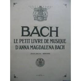 BACH J. S. Le Petit Livre de Musique d'Anna Magdalena Bach Piano 1937
