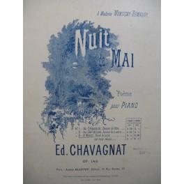 CHAVAGNAT Ed Nuit de Mai Piano