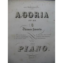 GORIA A. Choeur de Judas Machabée Piano XIXe siècle