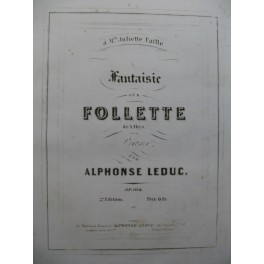 LEDUC Alphonse Follette Piano ca1850