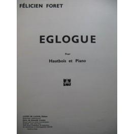 FORET Félicien Eglogue Piano Hautbois 1946