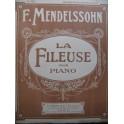 MENDELSSOHN La Fileuse Romance Piano