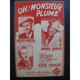 Oh ! Monsieur Plume Swing Fox Chanson 1947