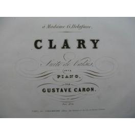 CARON Gustave Clary Piano XIXe siècle