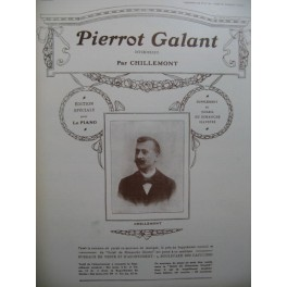 CHILLEMONT Pierrot Galant Piano