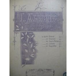 ALBENIZ Isaac Cordoba Piano