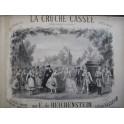 E de REICHENSTEIN La Cruche Cassée Piano 1876
