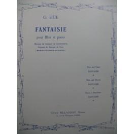 HÜE Georges Fantaisie Piano Flute