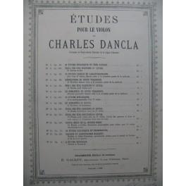 DANCLA Charles 36 Etudes pour le Violon 1892
