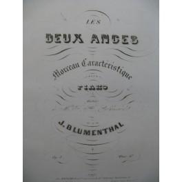 BLUMENTHAL J. Les Deux Anges Piano 1849