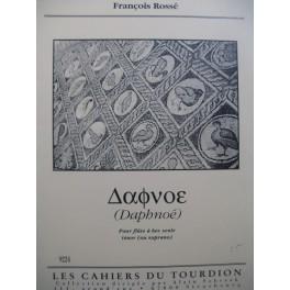 ROSSÉ François Daphnoé Flûte à bec seule 1993
