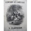 CLAPISSON Louis L'Enfant et l'Abeille Chant Piano ca1840