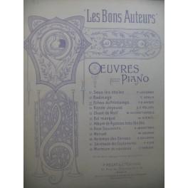 REISER F. H. Echos du Printemps Piano